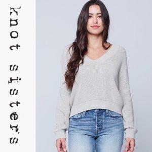 Knot Sisters V-neck Bridget Sweater